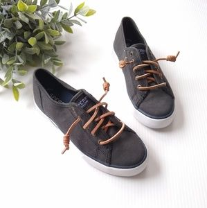 Sperry Top-siders • black sneaker loafers